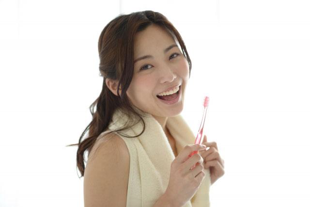歯磨きの仕方タイミング画像1
